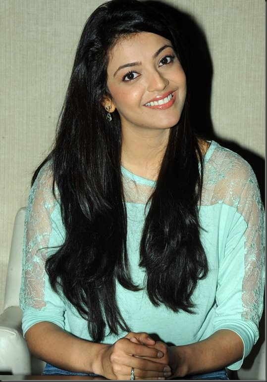 Kajal Aggarwal beautiful smile