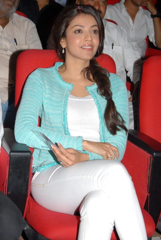 Kajal Aggarwal in simple dress