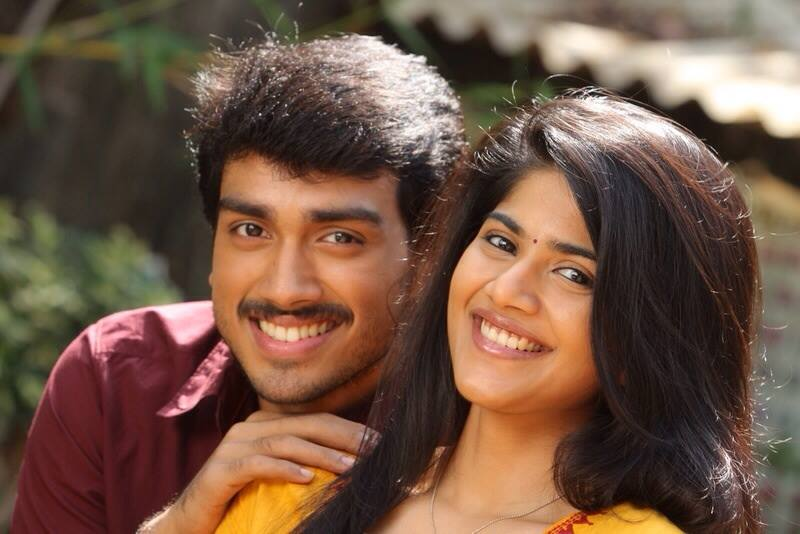 Kalidas with Megha Akash in Oru Pakka Kadhai