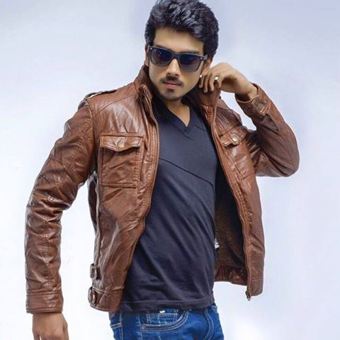 Kalidas Jayaram during a photoshoot