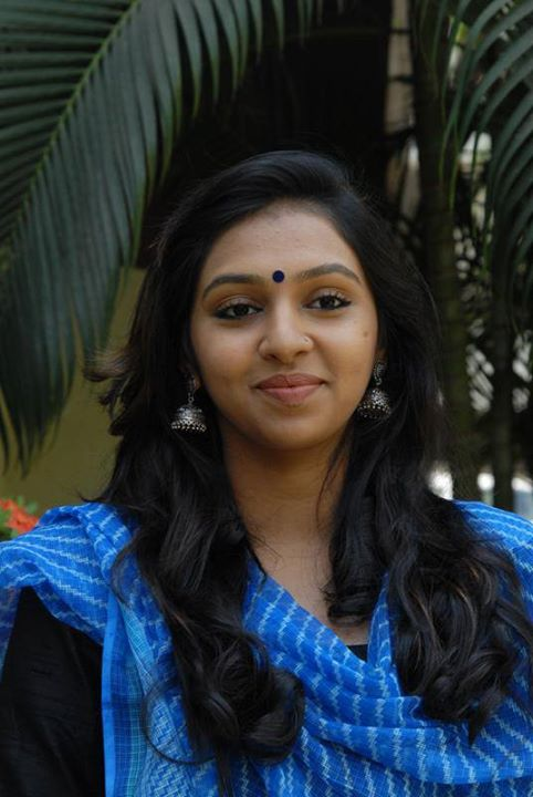 Lakshmi-Menon-hot in blue