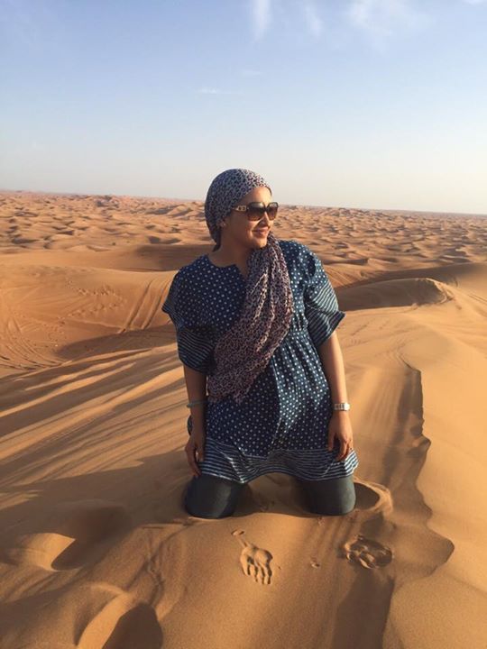 Lena (Malayalam Actress) in Dubai