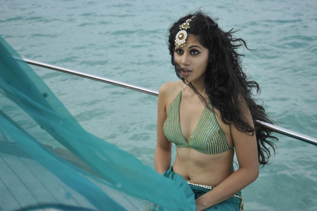 Tapsee bikini Hot Photos