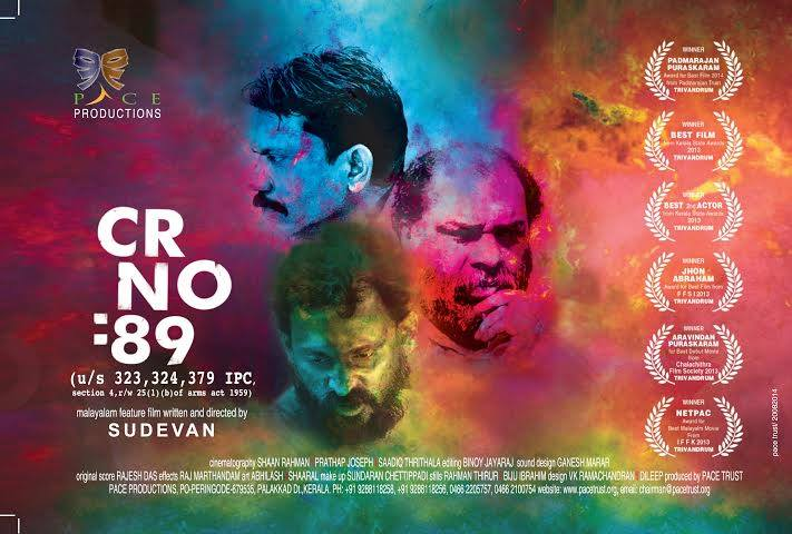 Cr No 89 Malayalam Movie Sudevan Director