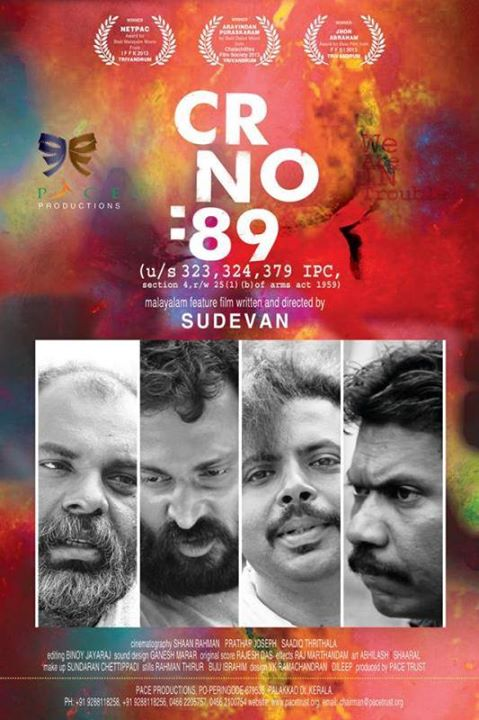 Cr No 89 Malayalam Movie Sudevan