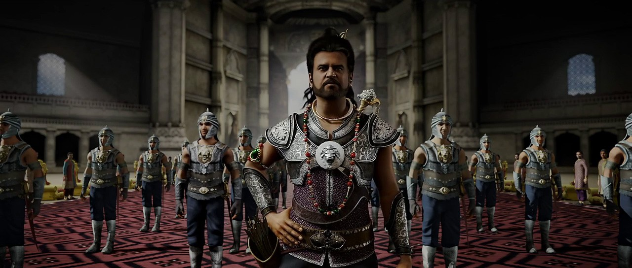 Rajinikanth in Kochadaiyaan _ Super Star _ Plumeria Movies (5)