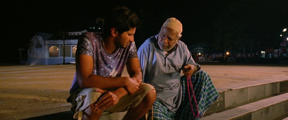 Dulquer Salman and Thilakan