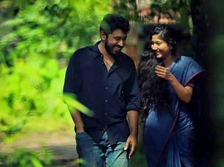 Sai Pallavi in Premam with Nivin Pauly