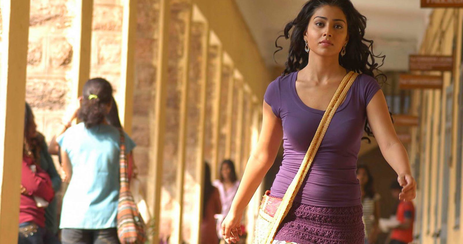 Shriya Saran hot in tight fit top from a movie