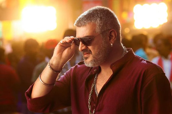 Ajith Kumar mass still from vedalam
