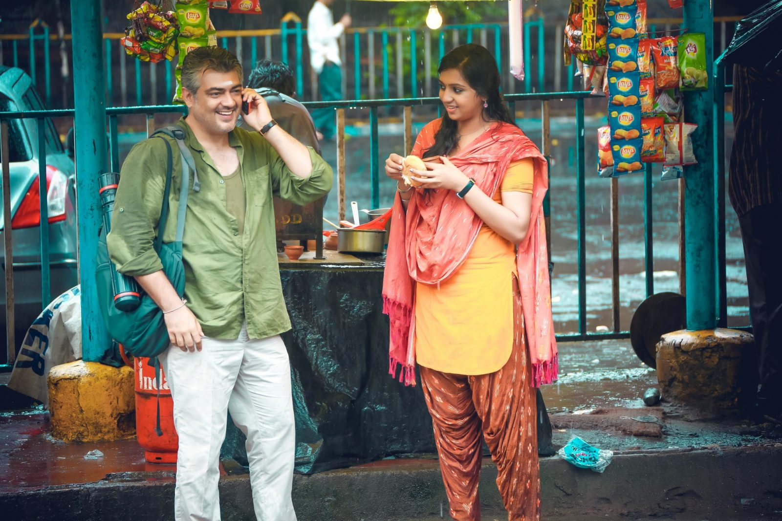 Ajith Kumar and Lakshmi Menon in Vedalam