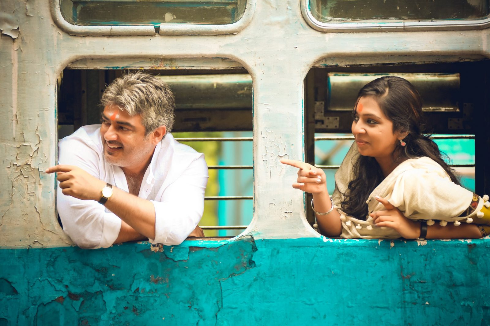 Ajith Kumar and Lakshmi Menon