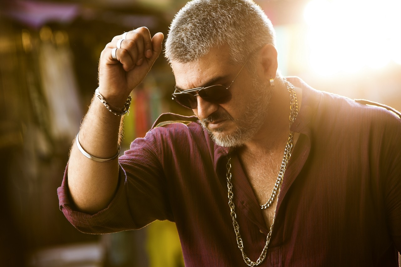 Ajith Kumar Mass photo in Vedalam