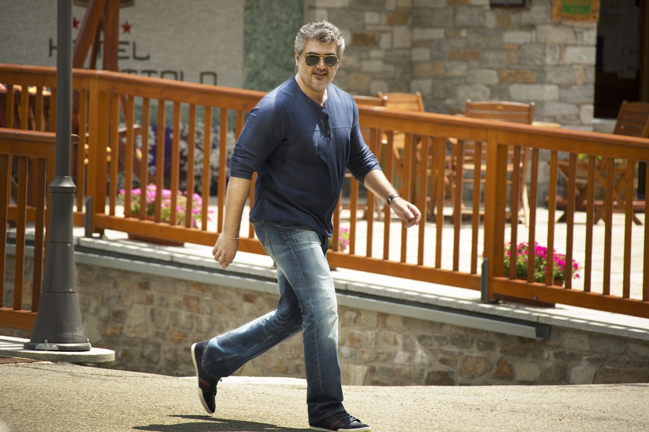 Ajith Kumar walking style
