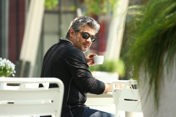 Ajith Kumar stylish in Vedhalam