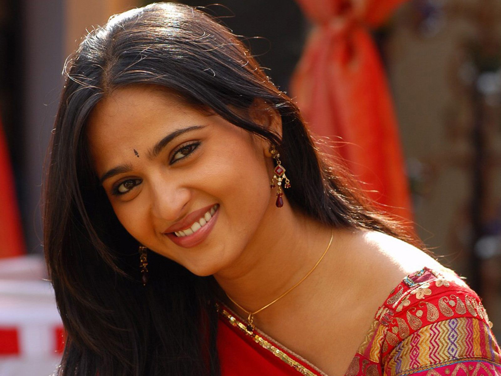 Anushka Shetty in traditional look