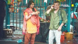 Photos of Lakshmi menon and Ajith Kumar from Vedalam Movie