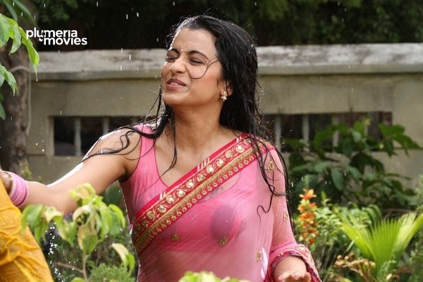 Trisha Hot Wet Stills Aranmanai 2(8)