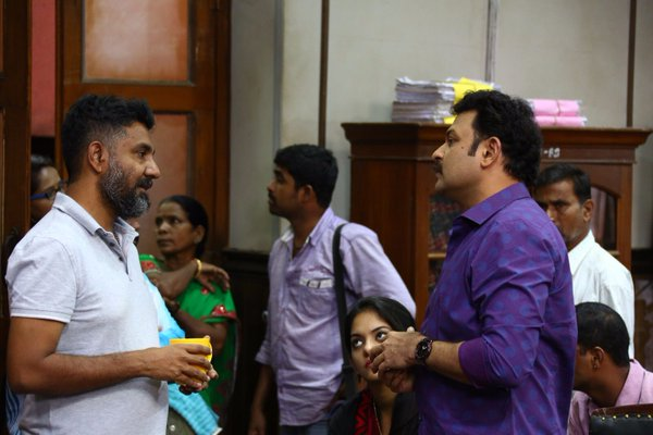 #Manithan Working Stills Hansika  (5)