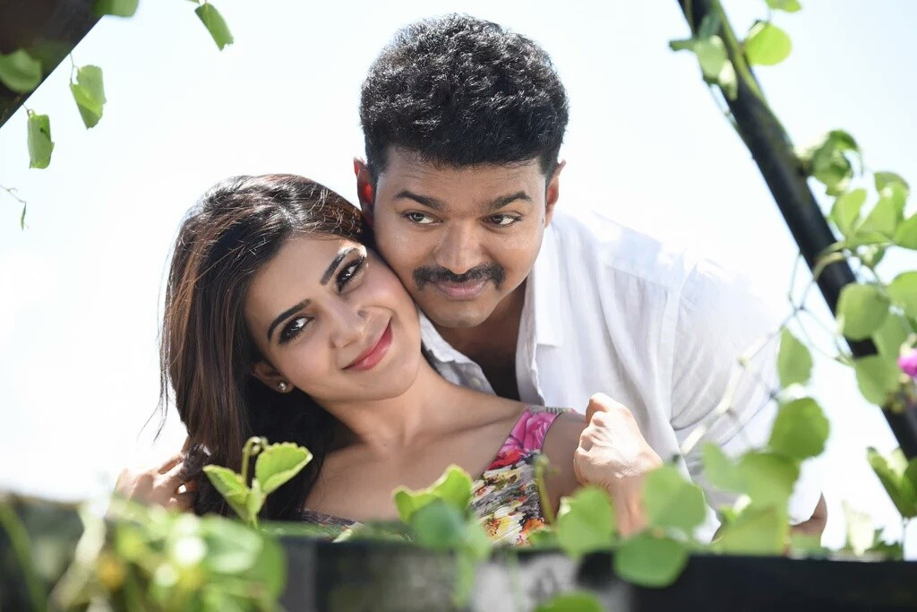 Vijay in Theri Samantha Prabhu (1)