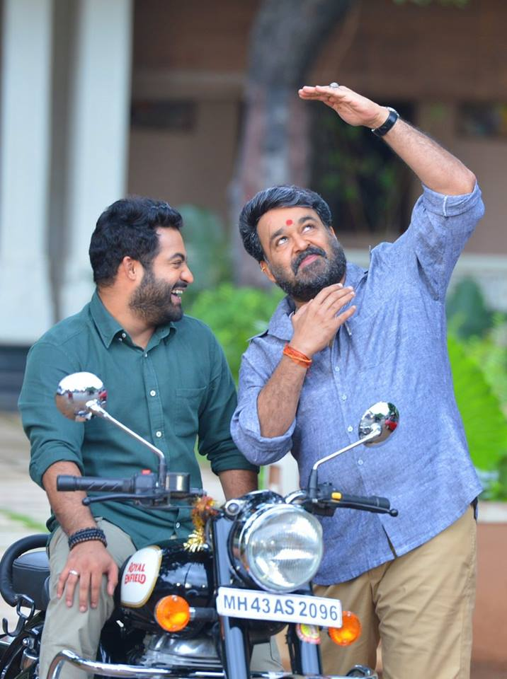 Mohanlal NTR in Janatha Garage