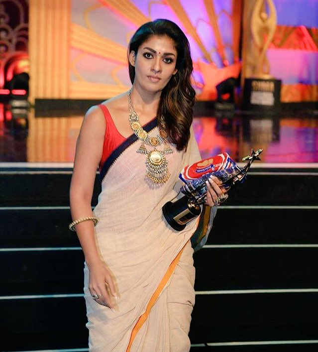 Nayanthara in Saree Latest Photos