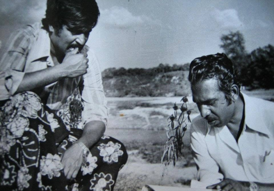 Rare Photos of Rajini kanth Mahendran Mullum Malarum