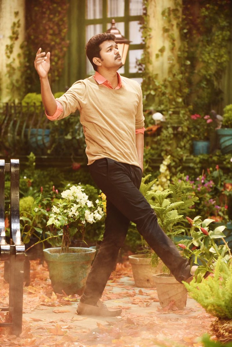 Exclusive Photos of Vijay and Samantha in Mersal