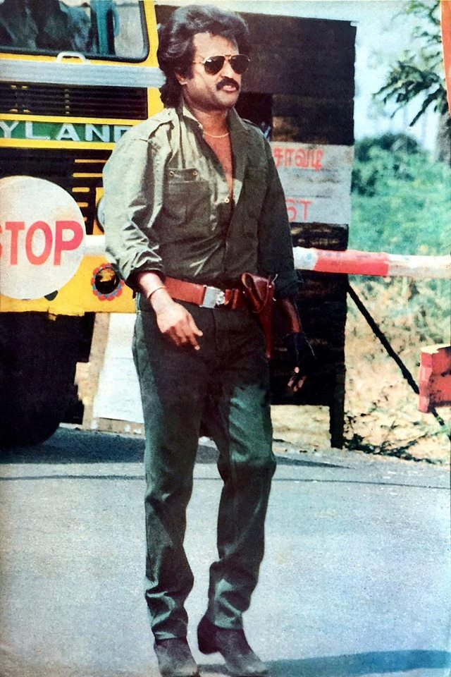 Rajini Kanth in Police Uniform