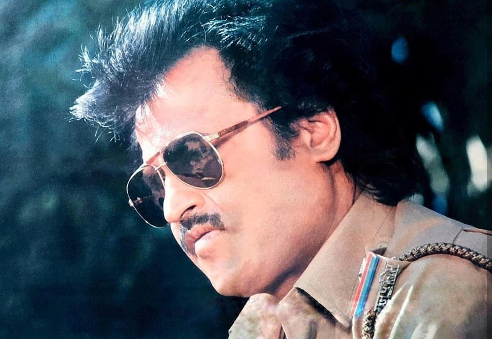 Rajinikanth in stylish Police Getup