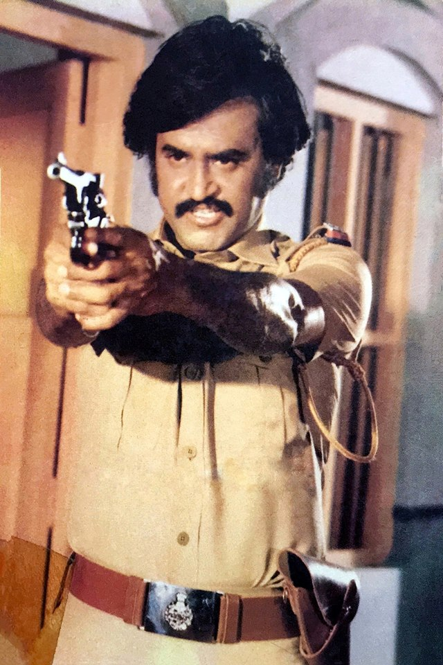 Rajinikanth in police getup