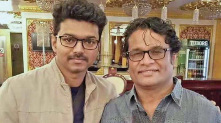 Hareesh Peradi with Vijay