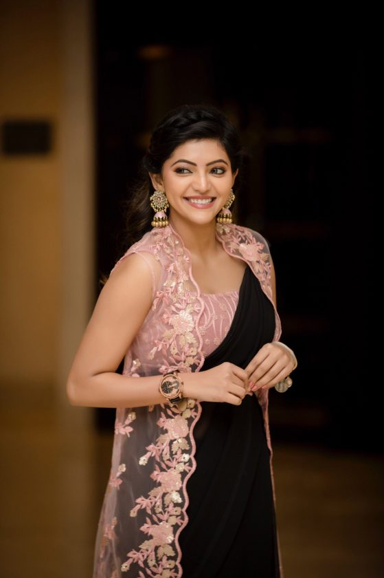 Athulya Ravi is a celebrity who is so active on social media with frequent photos