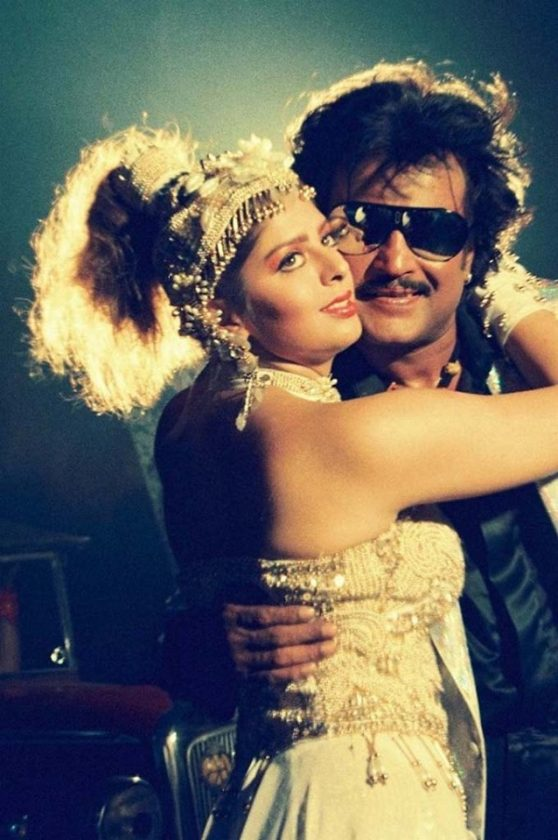 Stylish rajinikanth with nagma in style style thaan song