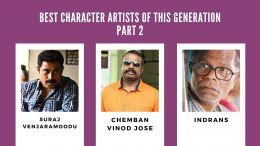 Best Supporting artists in Malayalam