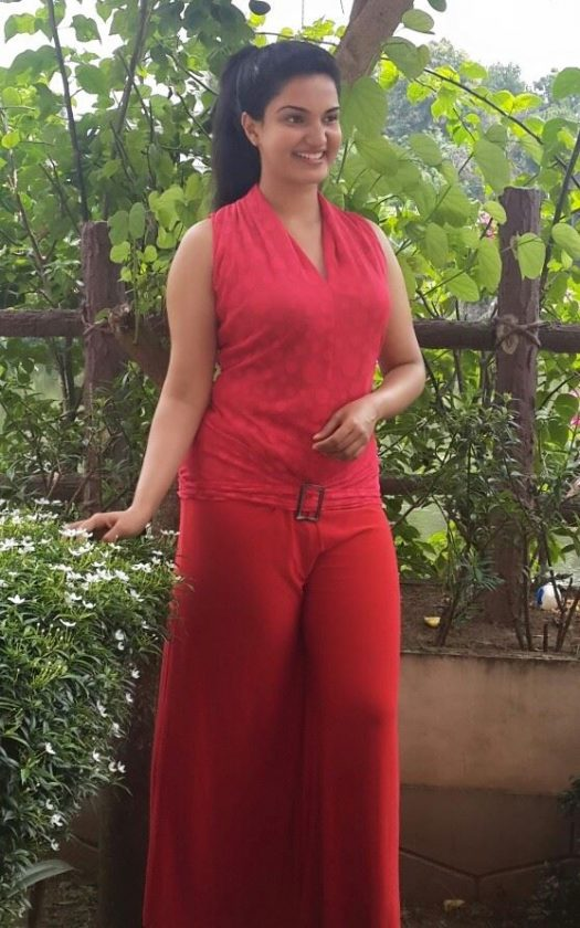 Honey Rose real life posing for a photo