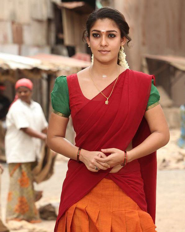 Nayanthara hot in half saree