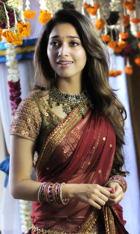 Tamannaah beautiful in half saree