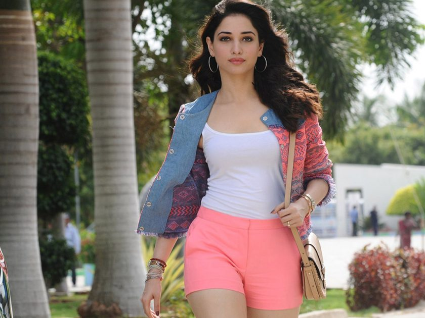 Tamannaah hot in shorts and top