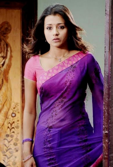 Trisha Krishnan hot see through