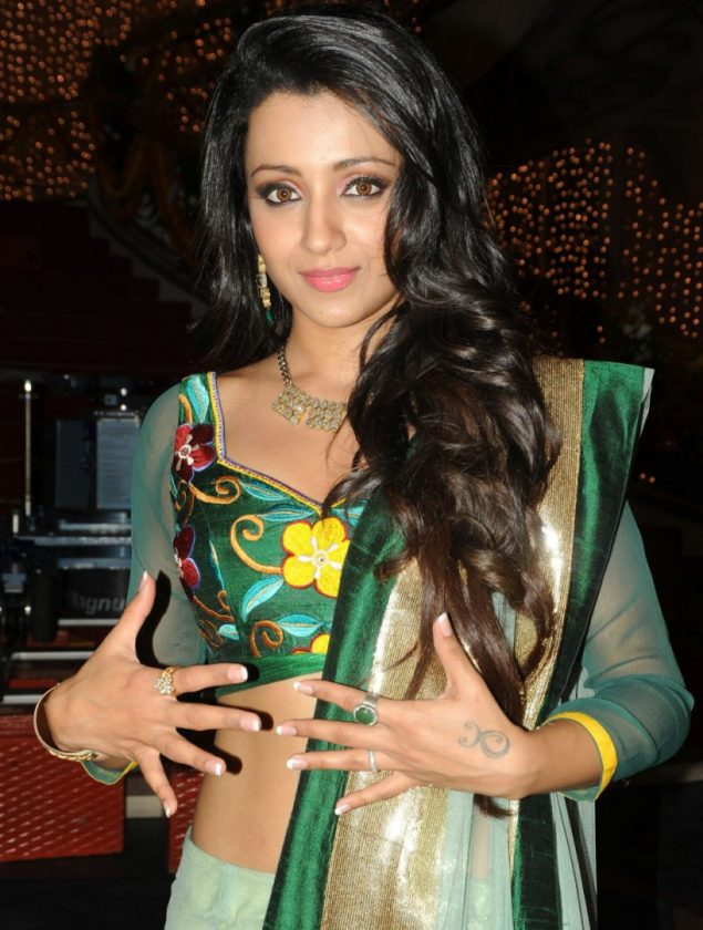 Trisha Krishnan real life photo