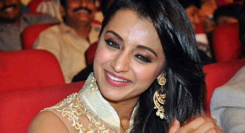 Trisha Krishnan real life photo smiling