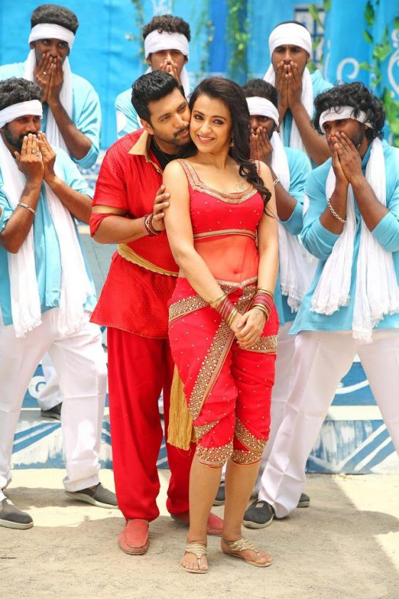 Trisha hottest photo in Sakalakala Vallavan