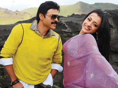 Trisha with Venkatesh