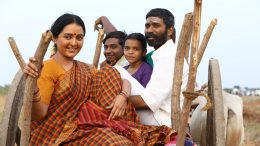 Manju Warrier in Asuran with Dhanush