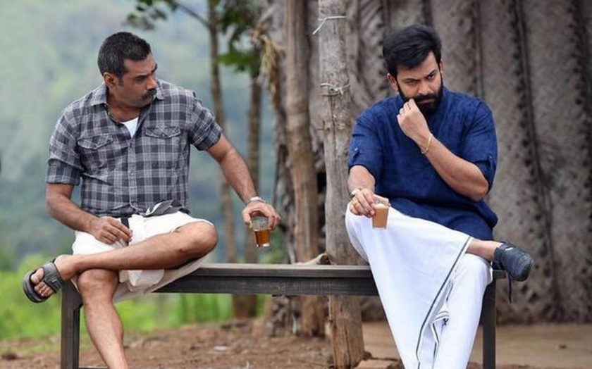 Biju Menon and Prithviraj