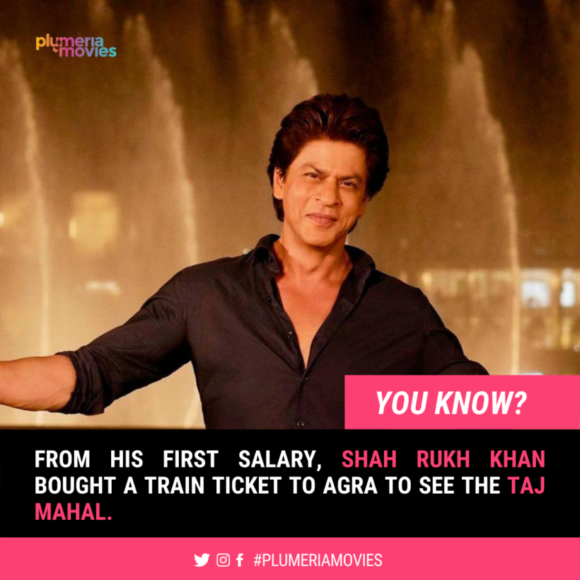 Shah Rukh Khan interesting facts